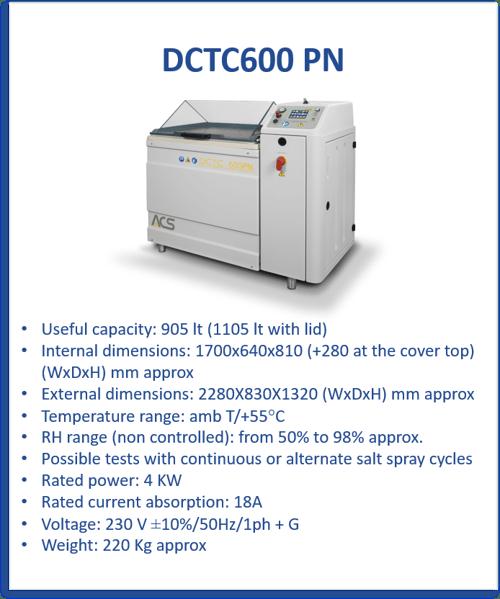 DCTC600 PN Blocco