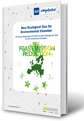 New refrigerant gas for climatic chamber