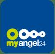 Logo MyAngel24 blu