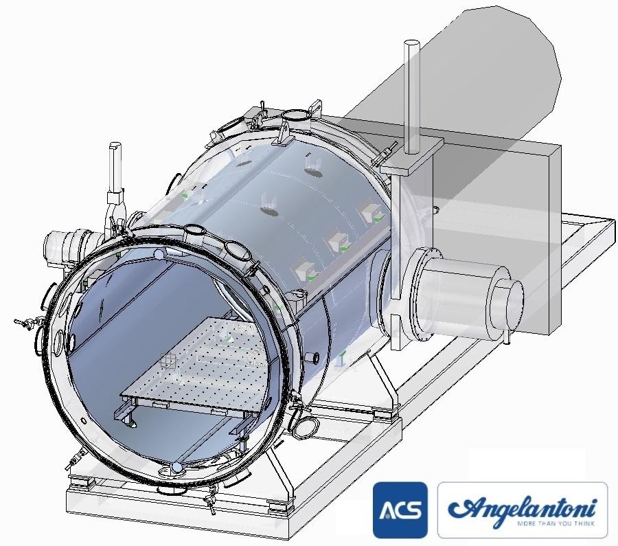 Thermal plate - ESA Space Simulator