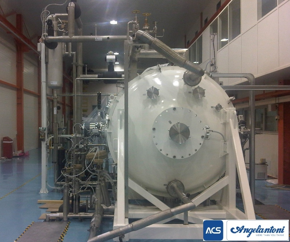 ACS Space Simulator Test Chamber