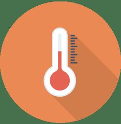 Temperature range